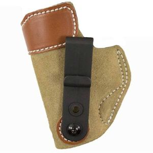 DeSantis Sof-Tuck IWB Holster 1911 Government Left Hand Leather Natural Tan 106NB85Z0