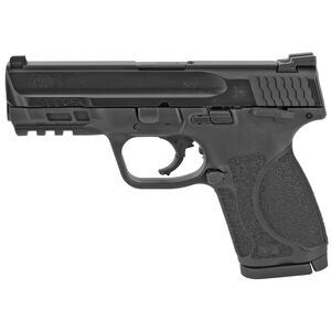 "S&W M&P9 M2.0 Compact 9mm Luger Semi Auto Pistol 4"" Barrel 15 Rounds Thumb Safety Armornite Finish Matte Black"