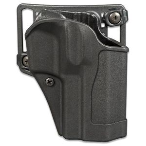 BLACKHAWK! Sportster CQC Belt/Paddle Holster For GLOCK 19/23/32 Right Hand Polymer Black 415602BK-R