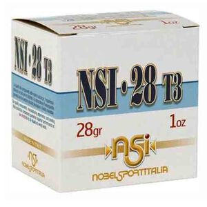 "NobelSport 28 Gauge Ammunition 25 Rounds 2-3/4"" #6 Lead Shot 1oz 1205fps"