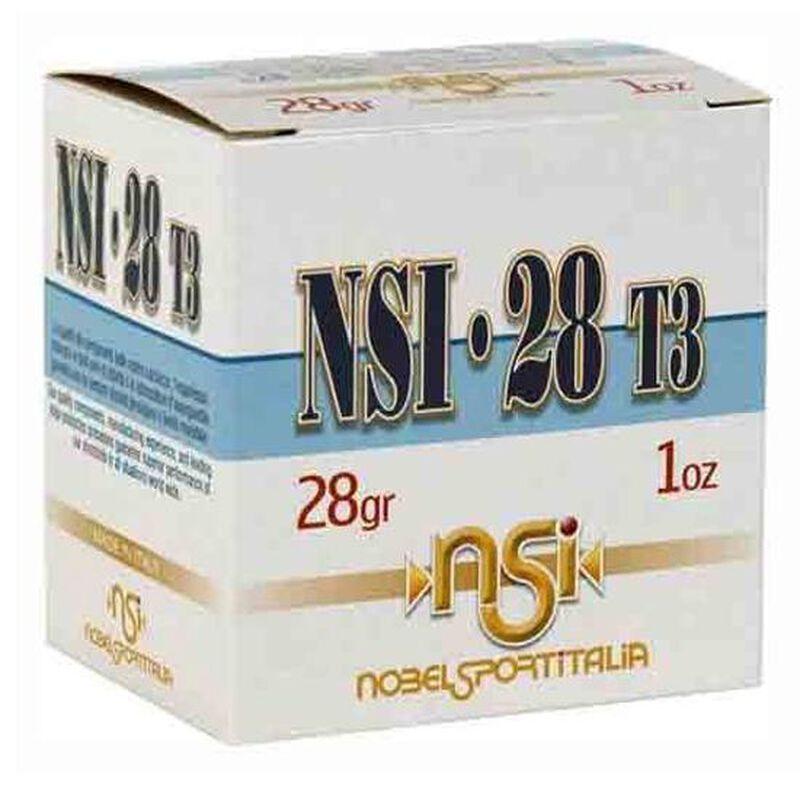 """NobelSport 28 Gauge Ammunition 25 Rounds 2-3/4"""" #6 Lead Shot 1oz 1205fps"""