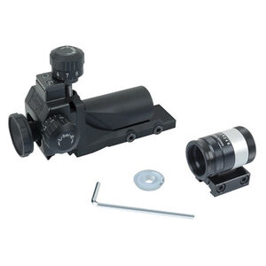 Anschutz Precision Target Rifle Sight Set 11mm Dovetail 6805 Rear Sight 6832 Front Sight Polymer/Steel Black ANS000934