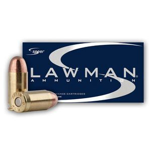 Speer Lawman .45 ACP Ammunition 185 Grain TMJ 1050 fps