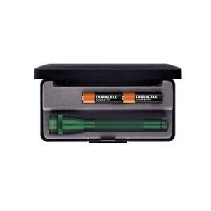 Maglite Mini Mag AA Presentation Box 14 Lumens 2x AA Batteries Green