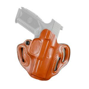 DeSantis Speed Scabbard For Taurus G3 OWB Belt Holster Leather Tan