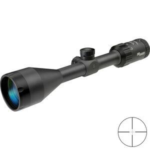 SIG Sauer WHISKEY3 3-9x50mm Rifle Scope Quadplex Reticle 1 Inch Tube .25 MOA Adjustment Matte Black Finish