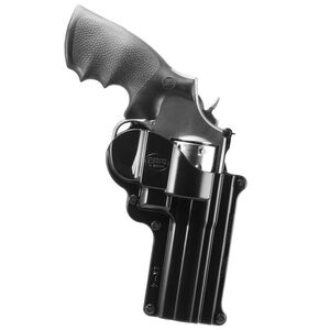 """Fobus Holster Smith & Wesson K&L Frame/Taurus 431,65,66 Right Hand Roto-Belt Attachment Fits 2.25"""" Belts Polymer Black"""