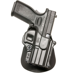 Fobus Holster H&K P2000/Springfield XD/Taurus PT111 G2 Right Hand Roto-Paddle Attachment Polymer Black