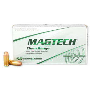 Magtech Clean Range .40 S&W Ammunition 50 Rounds TMJ 180 Grains CR40A