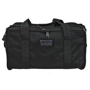 """BLACKHAWK! Sportster Pistol Range Bag, 16"""" x 6.75"""" x 8"""", Polyester, Black"""