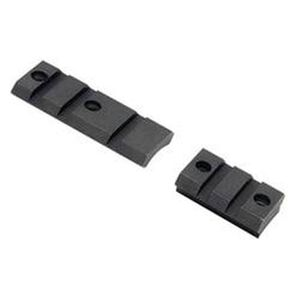Burris Xtreme Tactical Base Savage Rifles With Round Rear Receiver Weaver Style Rifle Base Steel Two Piece 410615