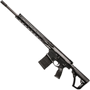 "Daniel Defense DD5v5 .260 Rem AR Style Semi Auto Rifle 20"" Barrel 20 Rounds 15"" M-LOK Handguard Collapsible Stock Black"