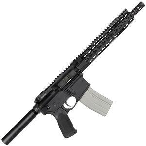 "Bravo Company USA RECCE-11 KMR-A AR-15 Semi Auto Pistol   5.56 NATO 11"" Barrel 30 Rounds BCM KMR-A10 Free Float Key-Mod Handguard QD End Plate Anodized Black Finish BCM-PISTOL-610-890"
