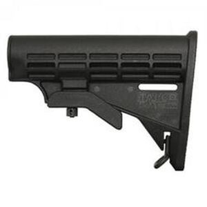 Tapco INTRAFUSE T6 AR-15 Mil-Spec Diameter Replacement Stock Polymer Matte Black