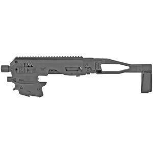 CAA Micro Roni MCK Gen 2 Conversion Kit Fits P80 with V1/V2 Slide Chassis Pistol Brace Black
