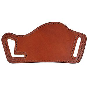 Bianchi #101 Foldaway Waistband Holster SZ16 Large Frame Semi Auto Right Hand Plain Tan Leather