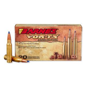 Barnes VOR-TX .308 Winchester Ammunition 20 Rounds 130 Grain TTSX BT Lead Free 3125 fps