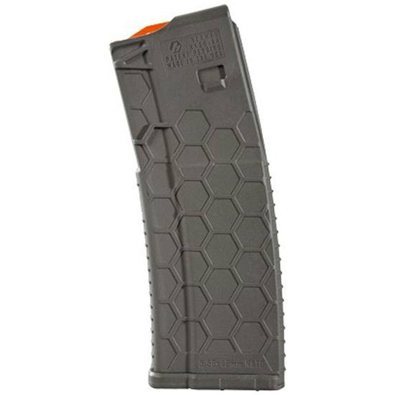 Hexmag Series 2 AR-15 30 Round Magazine/30 Round Body .223 Rem/5.56 NATO/.300 AAC Blackout PolyHex2 Advanced Composite Polymer Dark Gray
