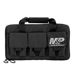 Smith & Wesson Pro Tac Handgun Case Double Nylon Black