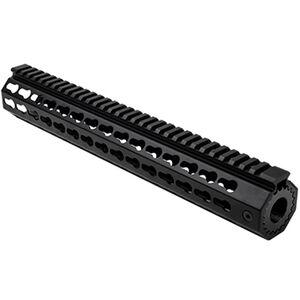 "NcSTAR S&W M&P15-22 13"" Free Float Key-Mod Handguard with Barrel Nut Aluminum Black"