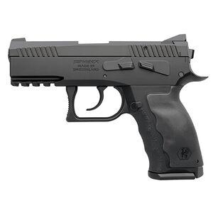 "KRISS USA SPHINX SDP Compact Alpha Semi Auto Pistol 9mm Luger 3.7"" Barrel 10 Rounds White Dot/U-Notch Sights Interchangeable Rubber Grips Aluminum/Polymer Frame Black SDP Coating Finish"