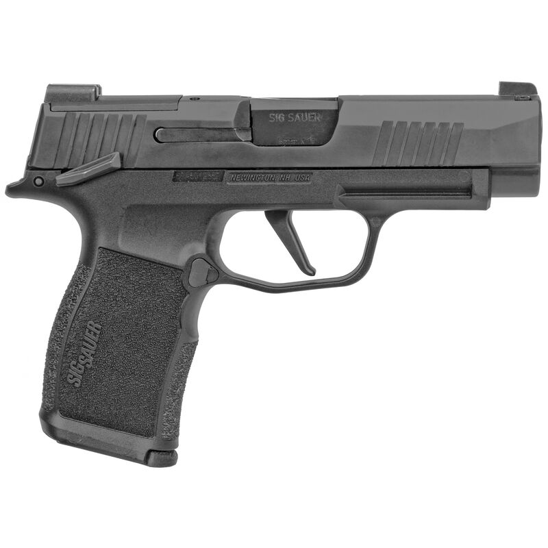 "SIG Sauer P365 XL 9mm Luger Semi Auto Pistol 3.7"" Barrel 12 Rounds Day/Night Sights Optics Ready Manual Safety Polymer Grip Frame Black Finish"