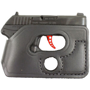 DeSantis Pocket Shot Pocket Holster Small .32/.380 Autos Ambidextrous Leather Black 110BJR7Z0