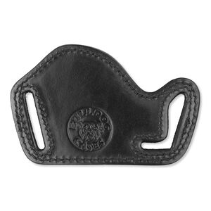 Bulldog Case Lay Flat Belt Slide Holster Small/Medium Autos Right Hand Leather Black LF-S/M