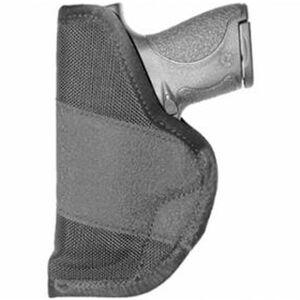"Crossfire Shooting Gear The Grip Clip Compact Semi Autos with 3"" to 3.5"" Barrels IWB Ambidextrous Ballistic Nylon Black"