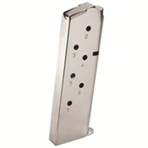 Remington R1 1911.45 ACP Magazine 7 Rounds Stainless Steel 19660