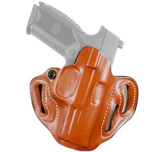 DeSantis Speed Scabbard FN 509 Belt Holster Right Hand Draw Leather Tan