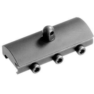 DoubleStar AR-15 Picatinny Rail Harris Bipod Adapter Aluminum Black DSC638