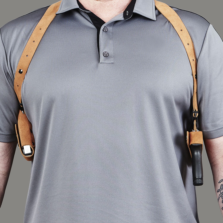 Smith /& Wesson J Frame Charter Arms Lite Shoulder Holster System Right Handed