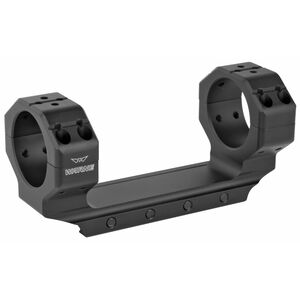 Warne Skyline Precision One Piece Scope Mount 34mm Tube Diameter Ultra High Ring Height/MSR Compatible 7075-T6 Billet Aluminum Matte Black Finish