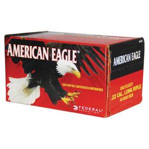 Federal American Eagle .22LR Ammunition 40 Grain LRN 1240 fps