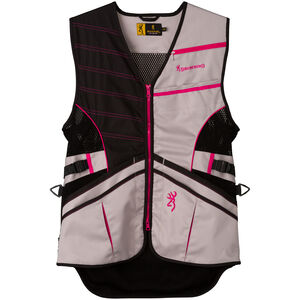 Browning Ace Shooting Vest Women's Pink Large