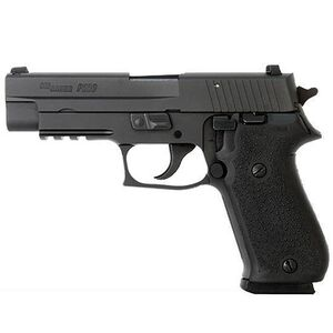 "SIG Sauer P220 Carry Semi Automatic Handgun .45 ACP 3.9"" Barrel 8 Rounds Night Sights Black Nitron Finish"