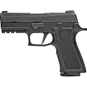 "SIG Sauer P320 XCarry 9mm Luger Semi Auto Pistol 3.9"" Barrel 17 Rounds Night Sites Black Polymer Grip Frame Black Nitron Finish"