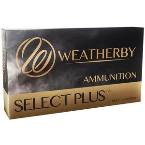 Weatherby Select Plus .257 Weatherby Magnum Ammunition 20 Round Box 110 Grain Hornady ELD-X Projectile 3400fps