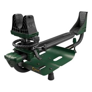 Caldwell Lead Sled DFT-2 Shooting Rest with Weight Tray Adjustable Tube Steel Frame Green and Black