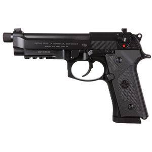 "Beretta M9A3 Type F 9mm Luger Semi Auto Pistol 5"" Threaded Barrel 10 Round Magazine Tritium Night Sights Ambidextrous Safety/Decocker Accessory Rail Matte Black"