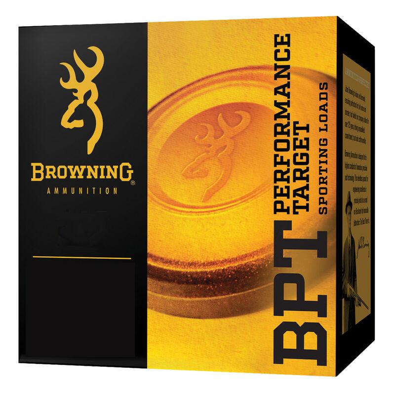 """Browning BPT 12 Gauge Ammunition 2-3/4"""" #7.5 Lead Shot 1-1/8 Ounce 1300 fps"""