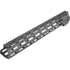 "Aim Sports 15"" DPMS LR-308 High M-LOK Handguard One Piece Free Float M-LOK Compatible Hand Guard DPMS High Profile Aluminum Matte Black Finish"