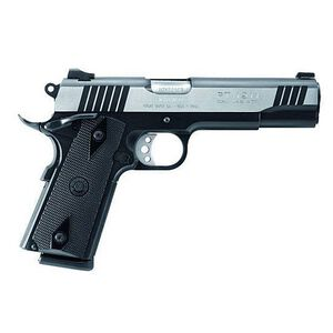 "Taurus Model 1911 Semi Automatic Handgun .45 ACP 5"" Barrel 8 Rounds Black Checkered Plastic Grips Duo-Tone Finish"