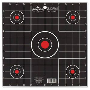 "Birchwood Casey Dirty Bird Targets 12"" Sight In 12 Pack"
