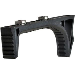Strike Industries AR-15 LINK Curved Foregrip M-LOK/Key-Mod Compatible Design Aluminum Black SI-LINK-CFG-BK