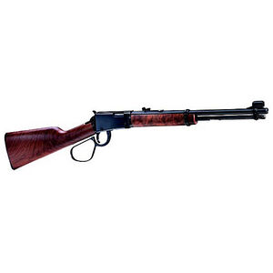 "Henry Repeating Arms Model H001L Lever Action Rimfire Carbine .22 Long Rifle 16.125"" Barrel 12 Rounds Walnut Stock Blued Finish"