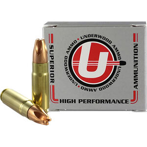 Underwood Ammo .458 HAM'R Ammunition 20 Round Box 302 Grain Solid Copper 2100 fps