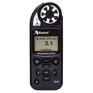 Kestrel 5700 Elite Electronic Hand Held Weather Meter with Applied Ballistics Black