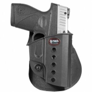 Fobus Evolution Holster CZ 97B/S&W M&P Shield/Walther PPS Right Hand Paddle Attachment Polymer Black